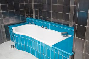 Beautiful Salle De Bain Noir Bleu Pictures - Awesome Interior Home ...